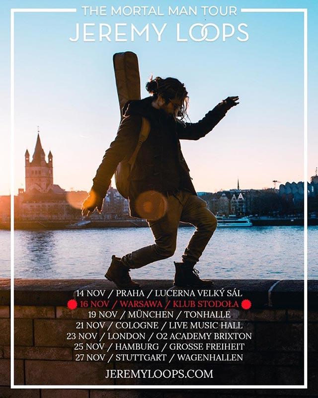 Jeremy Loops at Brixton Academy on Sat 23rd November 2019 Flyer
