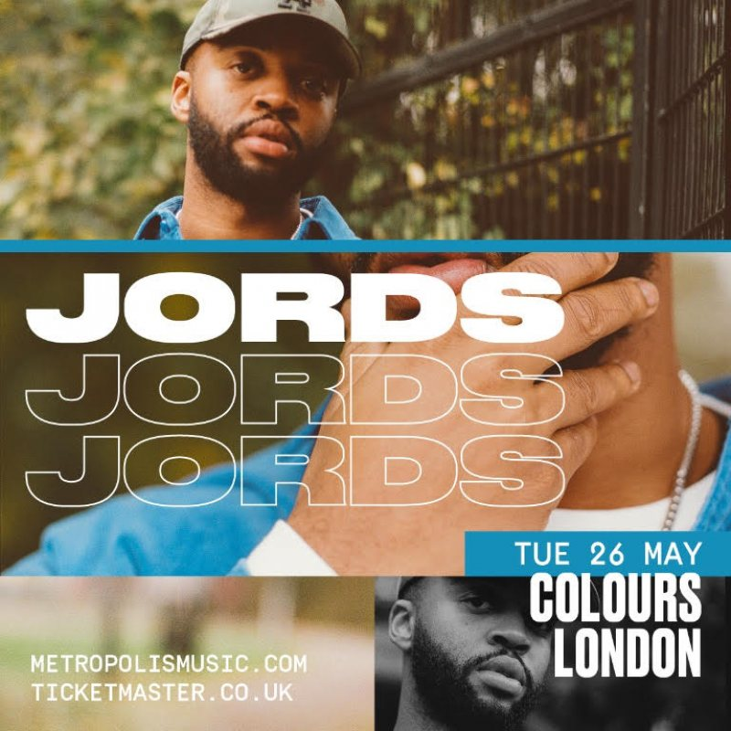 Jords at Colours Hoxton on Tue 26th May 2020 Flyer
