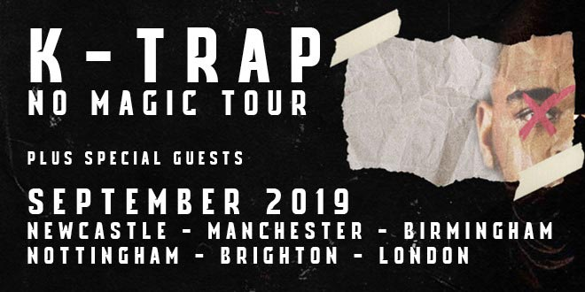 K-Trap at Oval Space on Thu 12th September 2019 Flyer