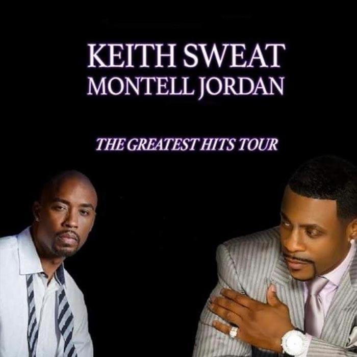 Keith Sweat + Montell Jordan at Indigo2 on Sat 28th March 2020 Flyer