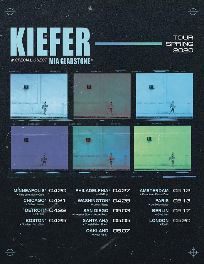 Kiefer at EartH on Wed 20th May 2020 Flyer