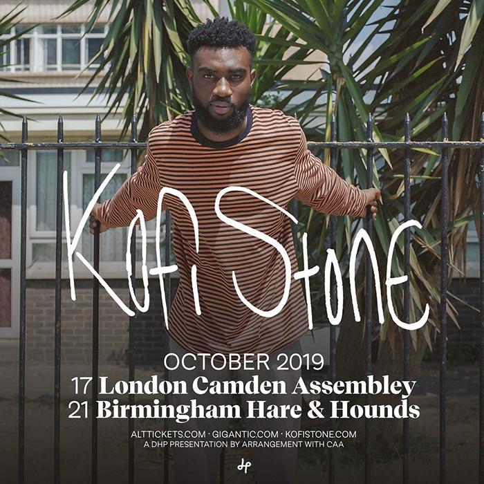 Kofi Stone at Camden Assembly on Thu 17th October 2019 Flyer