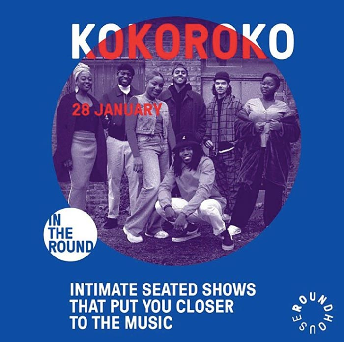Kokoroko at The Roundhouse on Tue 28th January 2020 Flyer