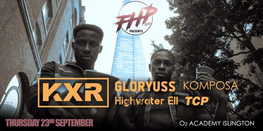 KXR at Islington Academy on Thu 23rd September 2021 Flyer