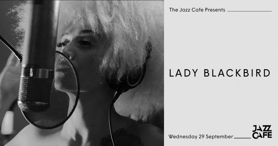 Lady Blackbird at Jazz Cafe on Wed 29th September 2021 Flyer