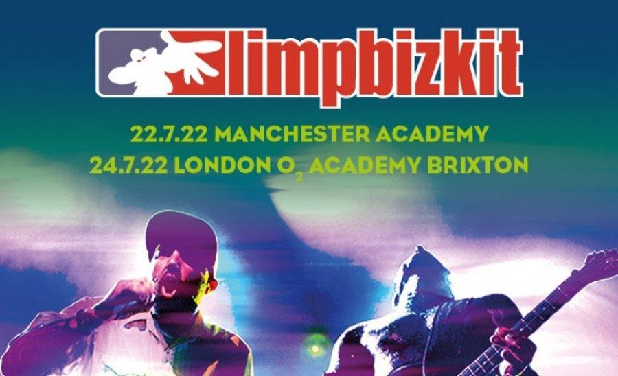 Limp Bizkit at Brixton Academy on Sun 24th July 2022 Flyer