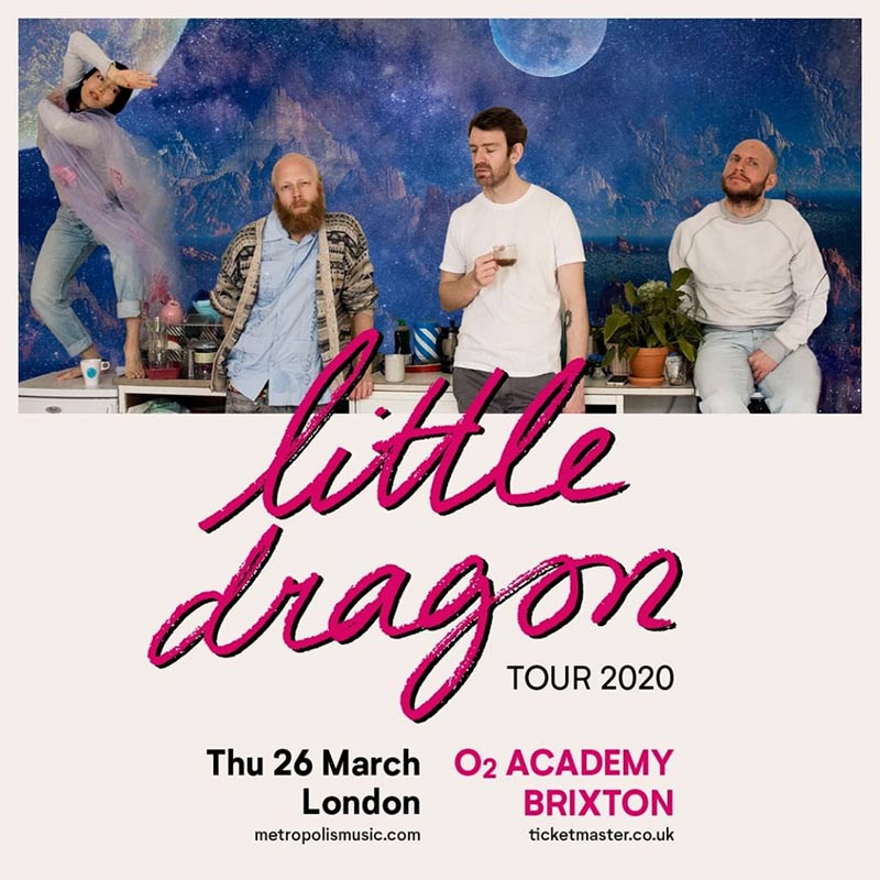 Little Dragon at Brixton Academy on Thu 26th March 2020 Flyer