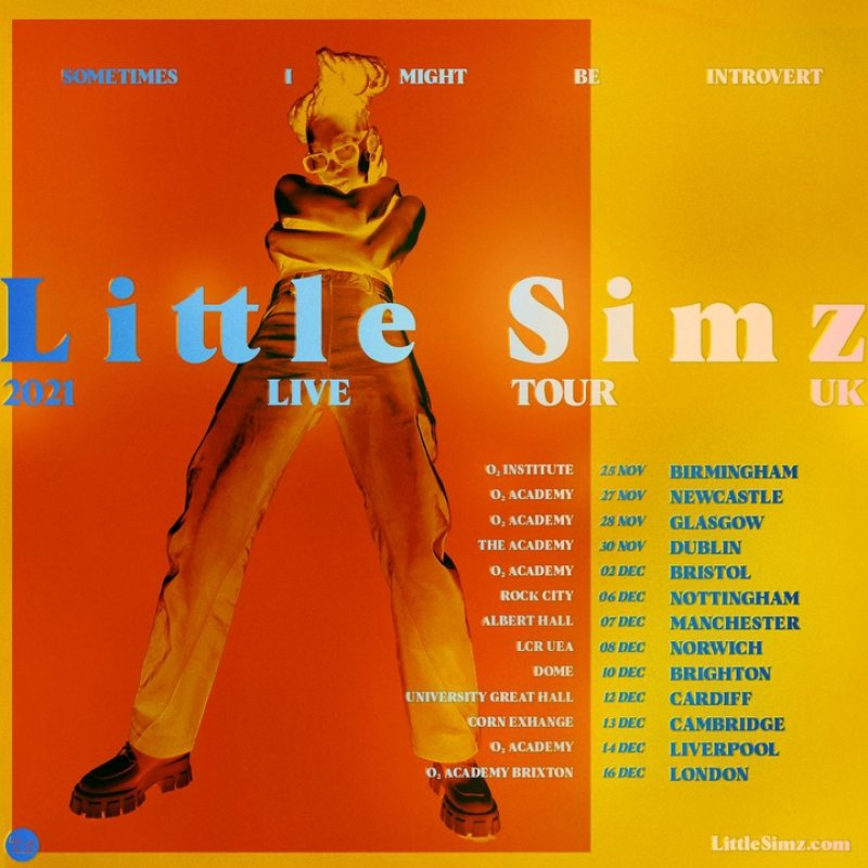 Little Simz at Brixton Academy on Thu 16th December 2021 Flyer