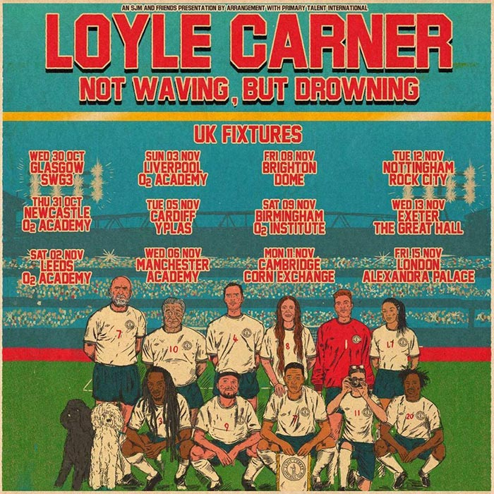 Loyle Carner at Alexandra Palace on Fri 15th November 2019 Flyer