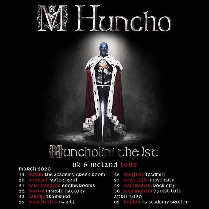 M Huncho at Brixton Academy on Thu 2nd April 2020 Flyer