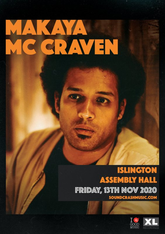 Makaya McCraven at Islington Assembly Hall on Fri 13th November 2020 Flyer