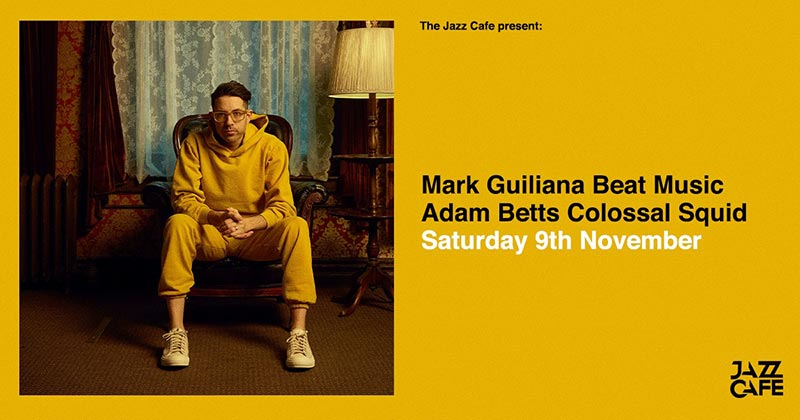 Mark Guiliana's Beat Music at Jazz Cafe on Sat 9th November 2019 Flyer