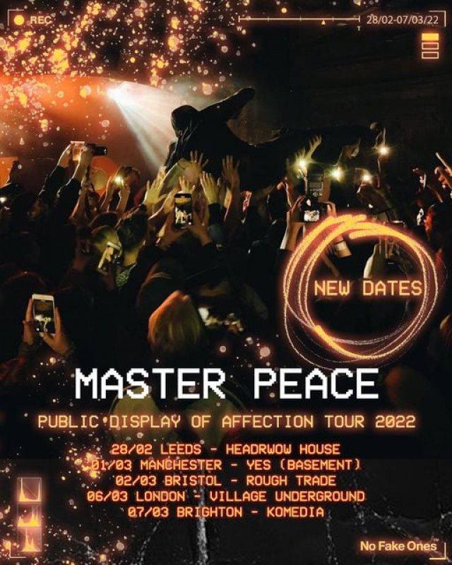 Master Peace at Village Underground on Sun 6th March 2022 Flyer