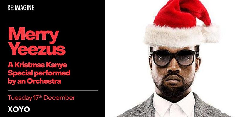Merry Yeezus at XOYO on Tue 17th December 2019 Flyer