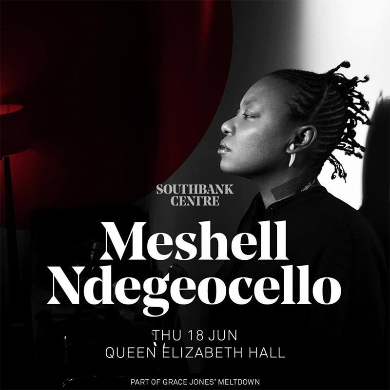 Meshell Ndegeocello at Southbank Centre on Thu 18th June 2020 Flyer