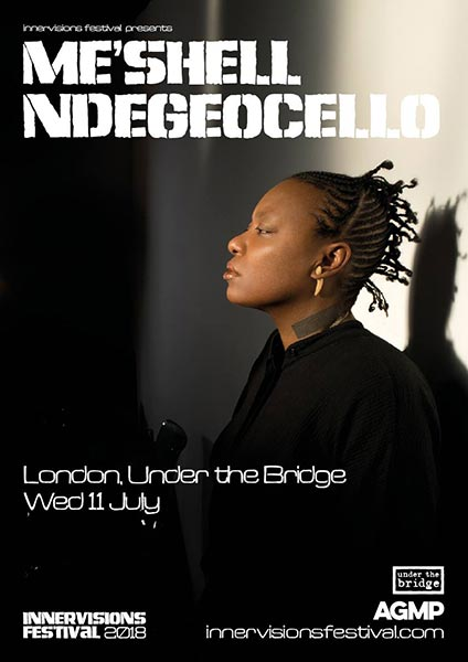 Me'Shell NdegéOcello at Under the Bridge on Wed 11th July 2018 Flyer