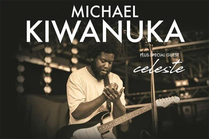 Michael Kiwanuka at Brixton Academy on Thu 5th March 2020 Flyer