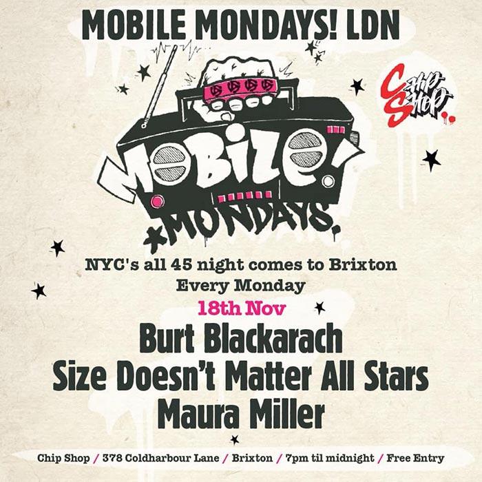 Mobile Mondays LDN at Chip Shop BXTN on Mon 18th November 2019 Flyer