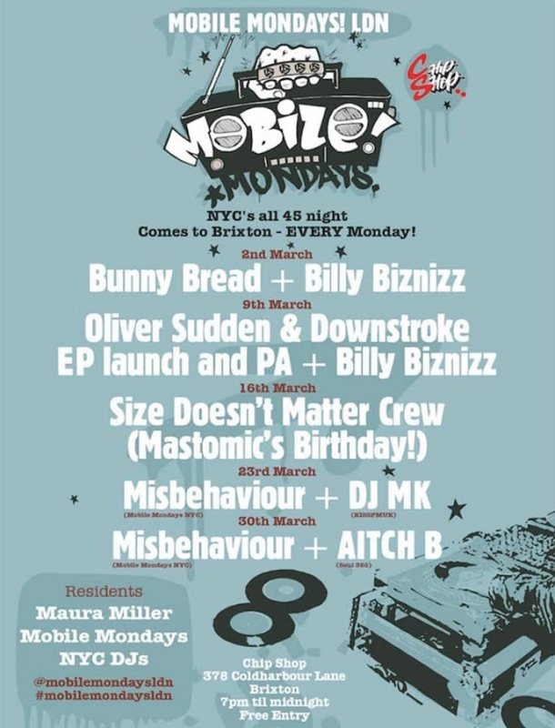Mobile Mondays LDN at Chip Shop BXTN on Mon 30th March 2020 Flyer