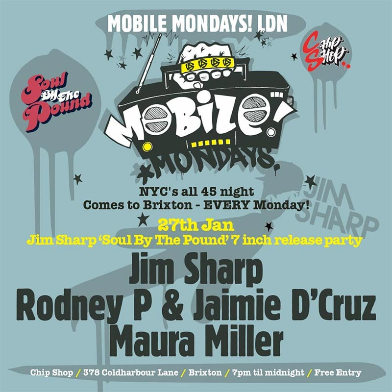 Mobile Mondays LDN at Chip Shop BXTN on Mon 27th January 2020 Flyer
