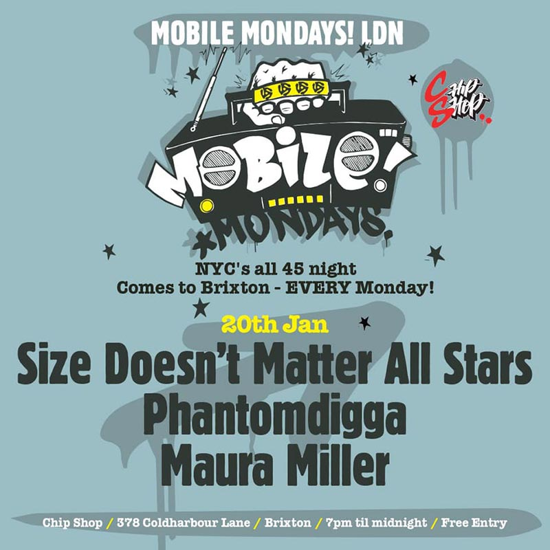 Mobile Mondays LDN at Chip Shop BXTN on Mon 20th January 2020 Flyer