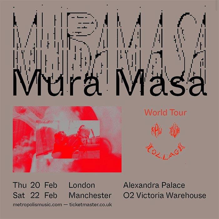 Mura Masa at Alexandra Palace on Thu 20th February 2020 Flyer