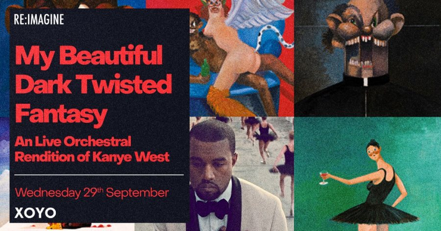 My Beautiful Dark Twisted Fantasy at XOYO on Wed 29th September 2021 Flyer