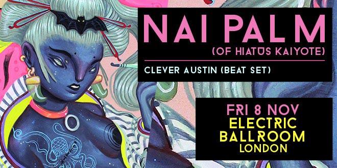 Nai Palm (Hiatus Kaiyote) at Electric Ballroom on Fri 8th November 2019 Flyer