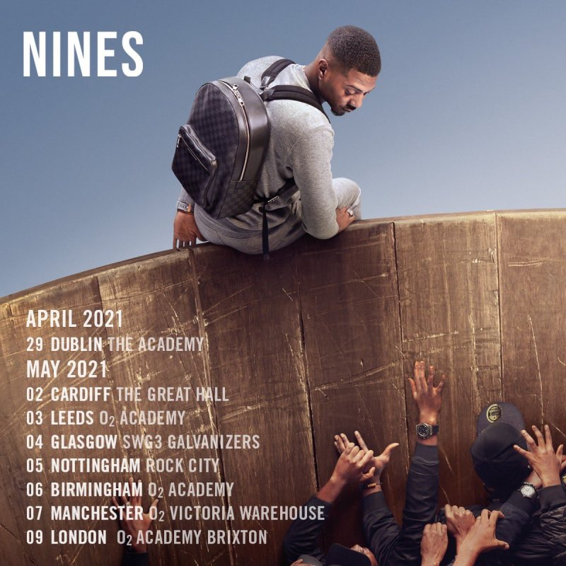 Nines at Brixton Academy on Sun 9th May 2021 Flyer