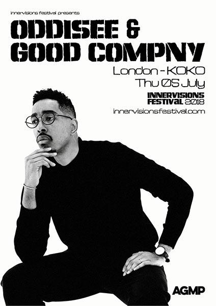 Oddisee & Good Company at KOKO on Thu 5th July 2018 Flyer