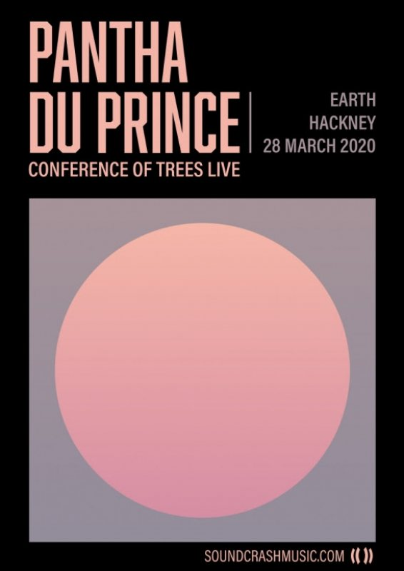 Pantha Du Prince at EartH on Sat 28th March 2020 Flyer