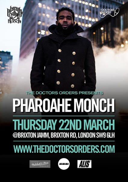 Pharoahe Monch at Brixton Jamm on Thu 22nd March 2018 Flyer