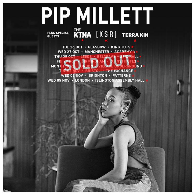 Pip Millett at Village Underground on Mon 1st November 2021 Flyer