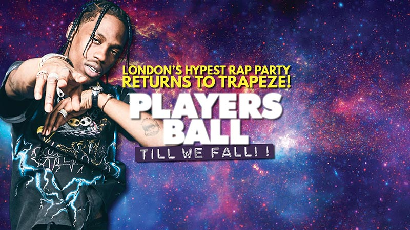 Players Ball at Trapeze on Fri 27th September 2019 Flyer