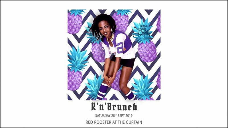 R'n'Brunch at The Curtain on Sat 28th September 2019 Flyer