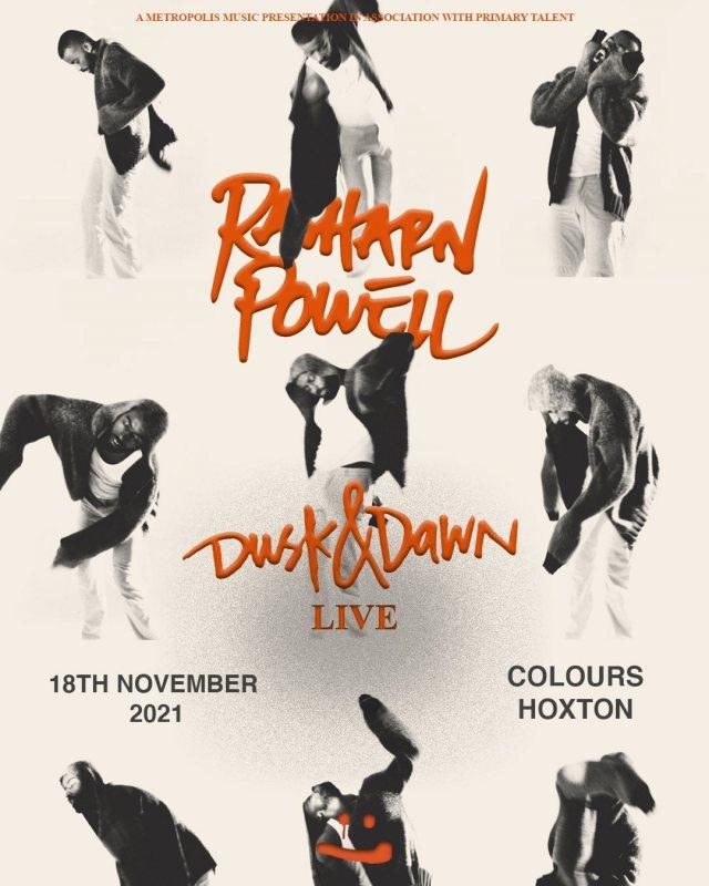 Rasharn Powell at Colours Hoxton on Thu 18th November 2021 Flyer