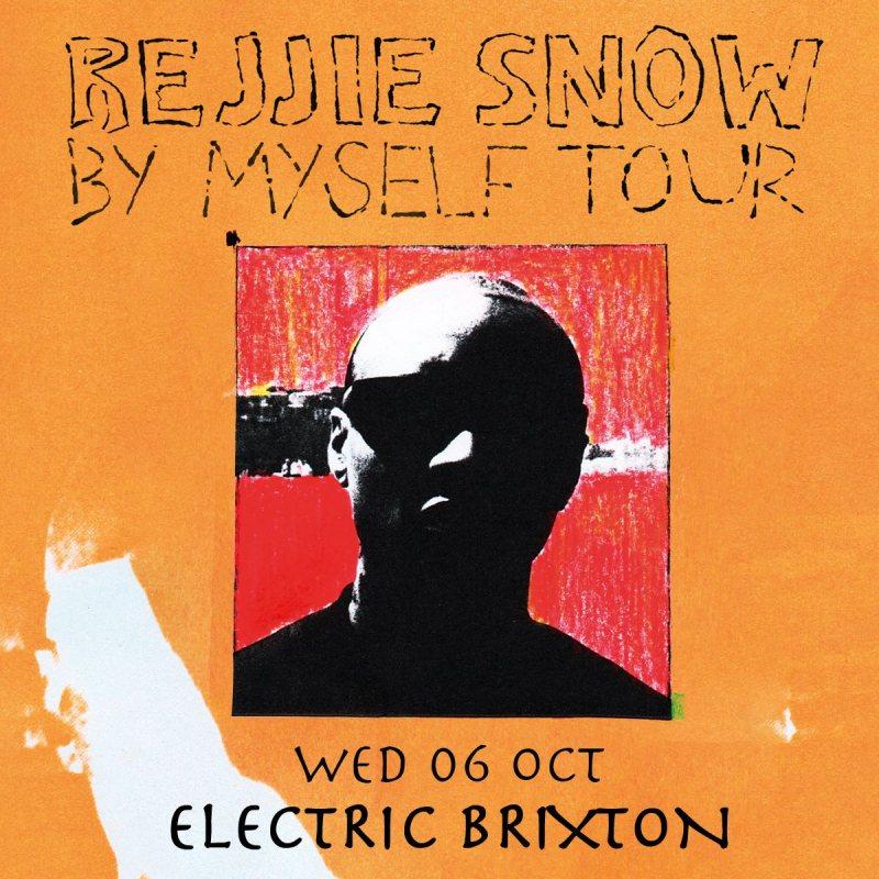 Rejjie Snow at Electric Brixton on Mon 4th April 2022 Flyer