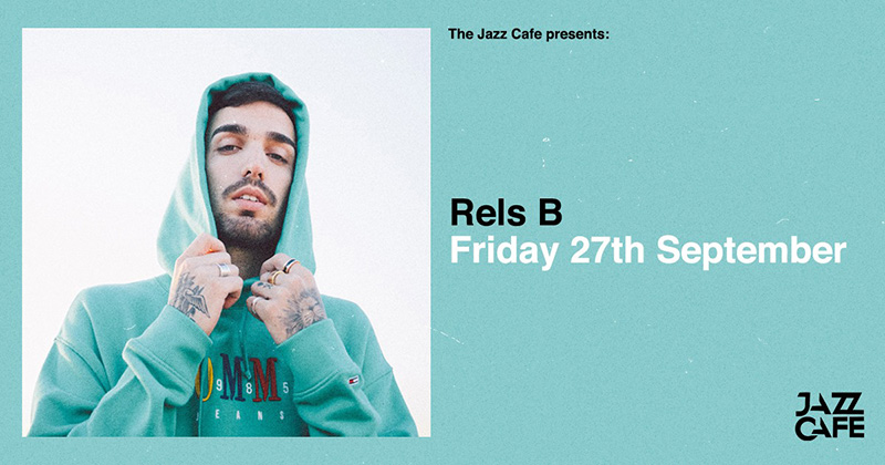 Rels B at Jazz Cafe on Fri 27th September 2019 Flyer