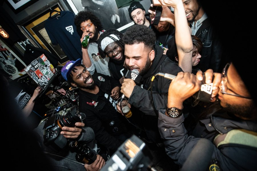 Rise Of The MC / Open Cypher at Chip Shop BXTN on Thu 5th March 2020 Flyer