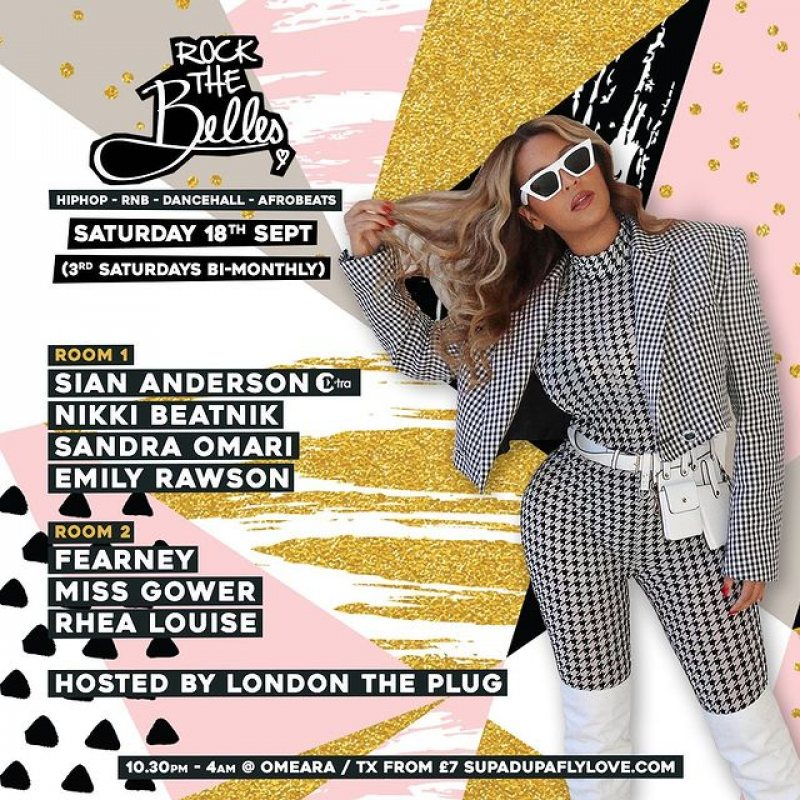 ROCK THE BELLES at Omeara on Sat 18th September 2021 Flyer