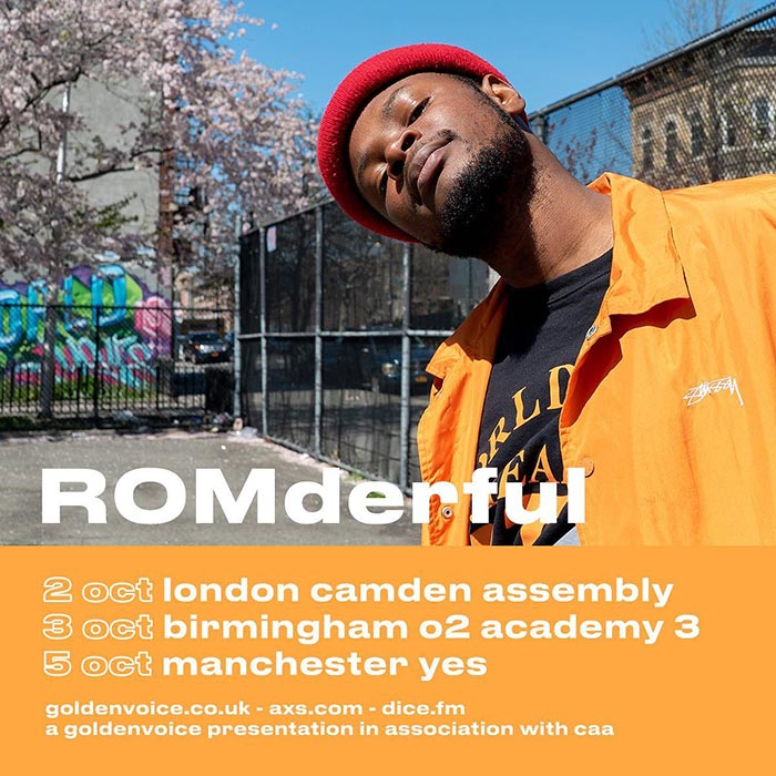 ROMderful at Camden Assembly on Wed 2nd October 2019 Flyer