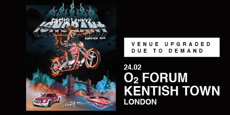 SAINt JHN at The Forum on Mon 24th February 2020 Flyer