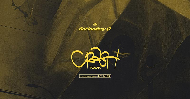 ScHoolboy Q at Brixton Academy on Tue 28th January 2020 Flyer