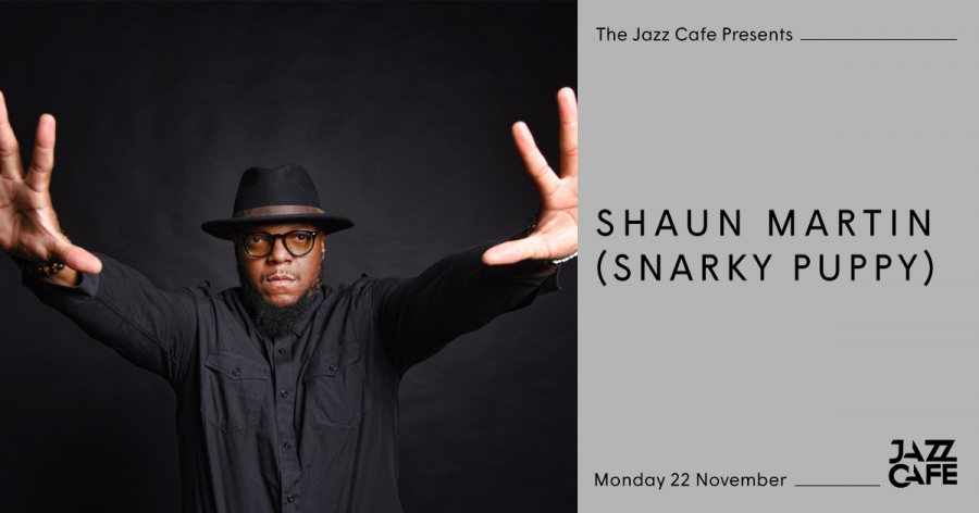 Shaun Martin at Jazz Cafe on Mon 22nd November 2021 Flyer