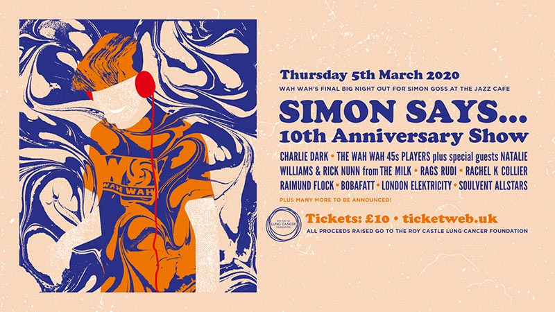 Simon Says 2020 at Jazz Cafe on Thu 5th March 2020 Flyer