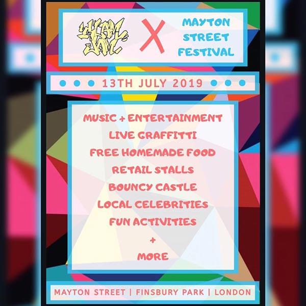 Slam Jam Street Festival at The Holloway Neighbourhood Group on Sat 13th July 2019 Flyer