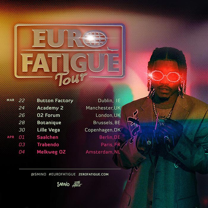 Smino at The Forum on Thu 26th March 2020 Flyer