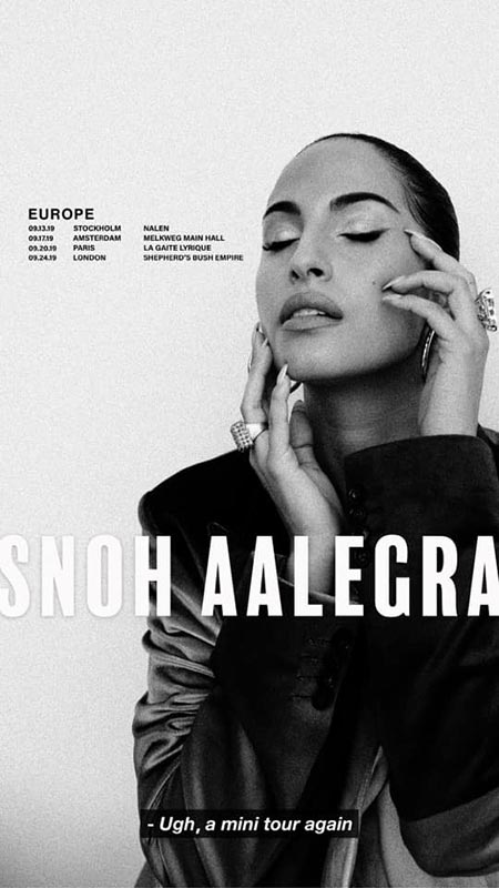 Snoh Aalegra at Shepherd