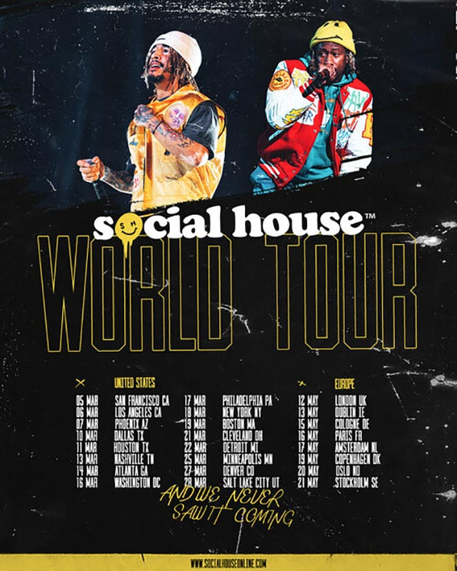 Social House at The Forum on Tue 12th May 2020 Flyer