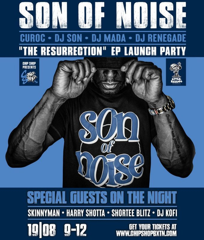 Son of Noise at Chip Shop BXTN on Thu 19th Aug 2021